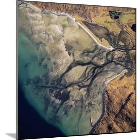 Aerial Image of Scotland, UK: Barrisdale Bay-Adrian Warren-Mounted Photographic Print