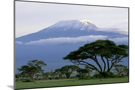 Mt Kilimanjaro in Tanzania--Mounted Photographic Print