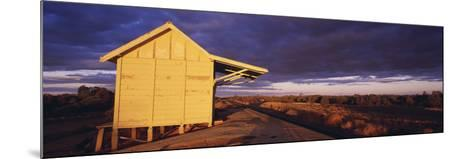 Australia Outback Railway Station Near Broken Hill--Mounted Photographic Print