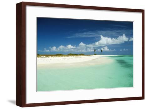 Venezuela Los Roques, Dos Mosquises Reefs--Framed Art Print