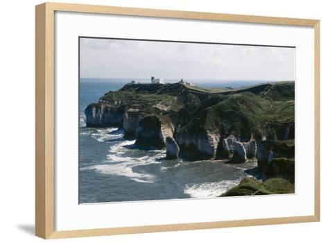 Yorkshire Flamborough Head--Framed Art Print