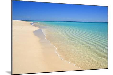 Dream Beach White Sandy Beach, Clear Turquoise--Mounted Photographic Print