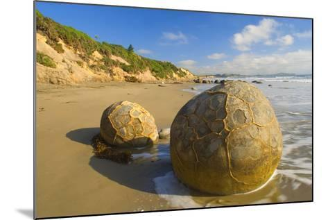 Moeraki Boulders Massive Spherical Rocks Which--Mounted Photographic Print