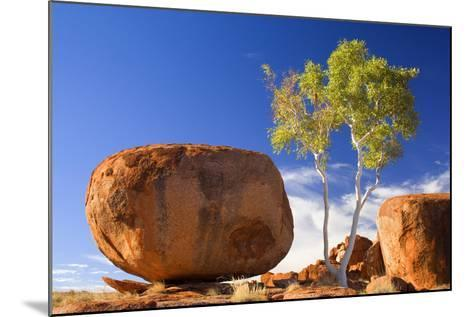 Devils Marbles--Mounted Photographic Print