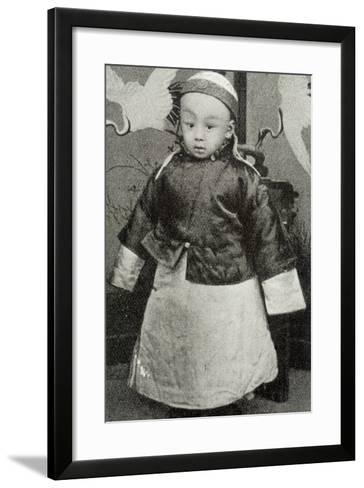 Hsuan-T'Ung, Last Emperor--Framed Art Print