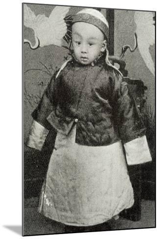 Hsuan-T'Ung, Last Emperor--Mounted Photographic Print