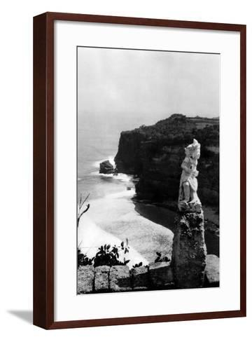 Bali Coastline--Framed Art Print