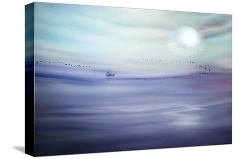 Fishing-Ursula Abresch-Stretched Canvas Print