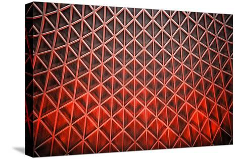 Diamond Flames-Adrian Campfield-Stretched Canvas Print
