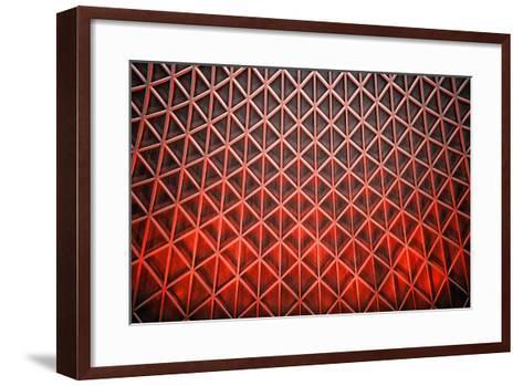 Diamond Flames-Adrian Campfield-Framed Art Print