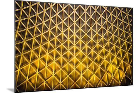 Yellow Diamonds-Adrian Campfield-Mounted Photographic Print