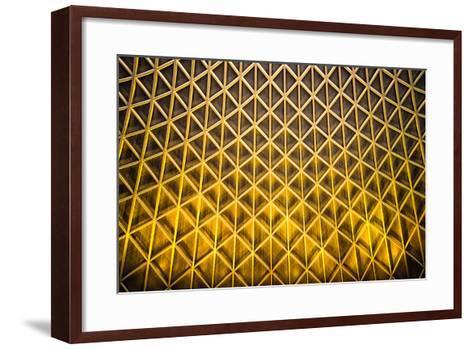 Yellow Diamonds-Adrian Campfield-Framed Art Print