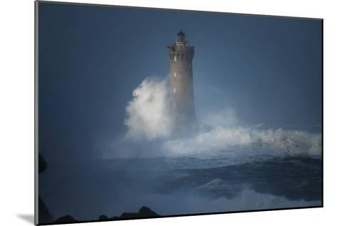 Bretagne, Overcome by Waves-Philippe Manguin-Mounted Photographic Print