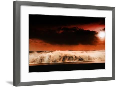 Digital Discord in Red.Jpg-Philippe Sainte-Laudy-Framed Art Print