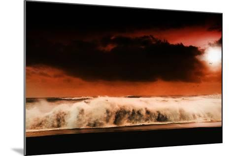 Digital Discord in Red.Jpg-Philippe Sainte-Laudy-Mounted Photographic Print