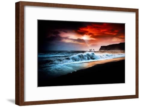 Vik Textured-Philippe Sainte-Laudy-Framed Art Print