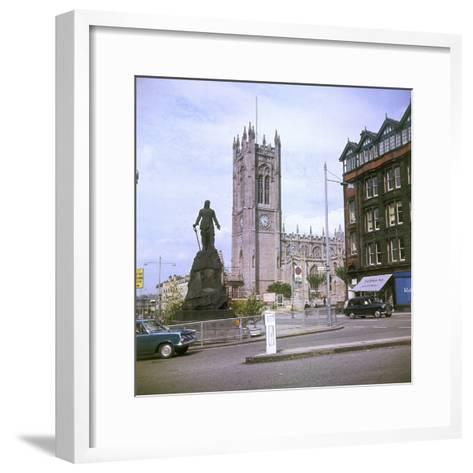 Manchester Cathedral--Framed Art Print