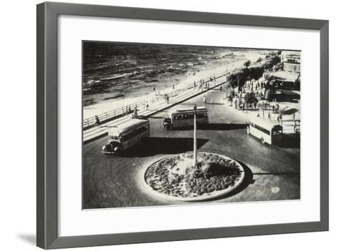 Herbert Samuel Square - Tel Aviv, Israel--Framed Art Print