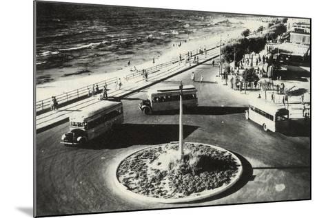 Herbert Samuel Square - Tel Aviv, Israel--Mounted Photographic Print