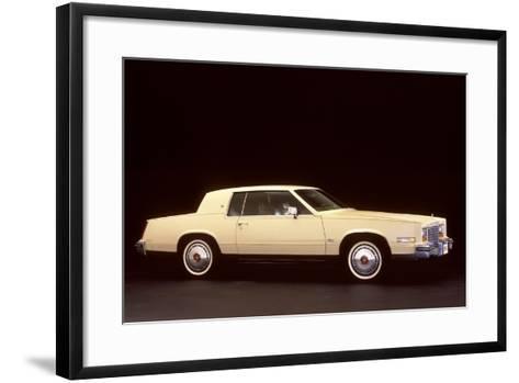 White Cadillac--Framed Art Print
