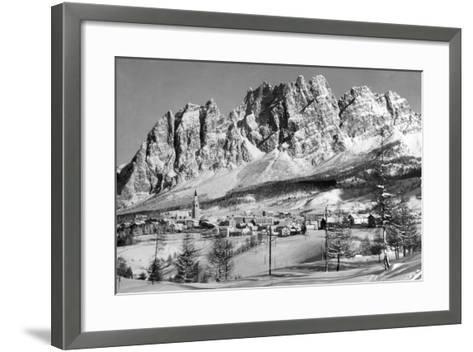 Cortina D'Empezzo--Framed Art Print