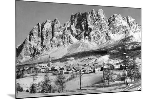 Cortina D'Empezzo--Mounted Photographic Print