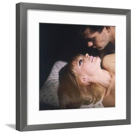 Passionate Couple--Framed Art Print