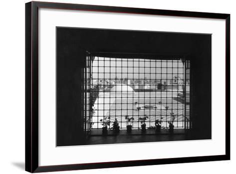 Moroccan Window--Framed Art Print