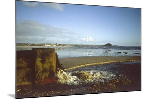 Sewage Outfall--Mounted Photographic Print
