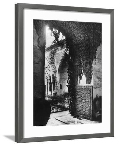 Alcazar of Seville--Framed Art Print