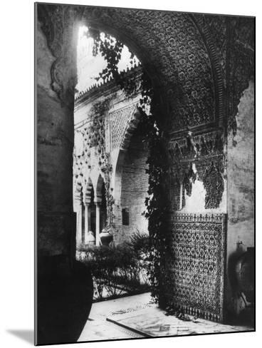 Alcazar of Seville--Mounted Photographic Print
