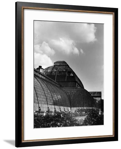 Kew Gardens Palm House--Framed Art Print