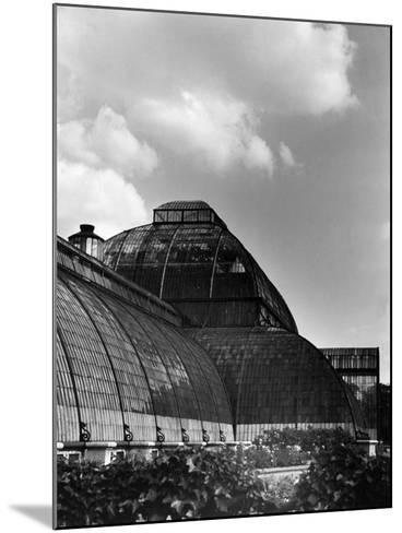 Kew Gardens Palm House--Mounted Photographic Print