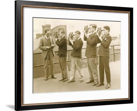Nautical Students 1930s--Framed Art Print