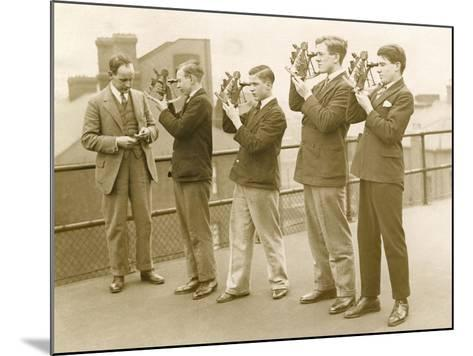 Nautical Students 1930s--Mounted Photographic Print