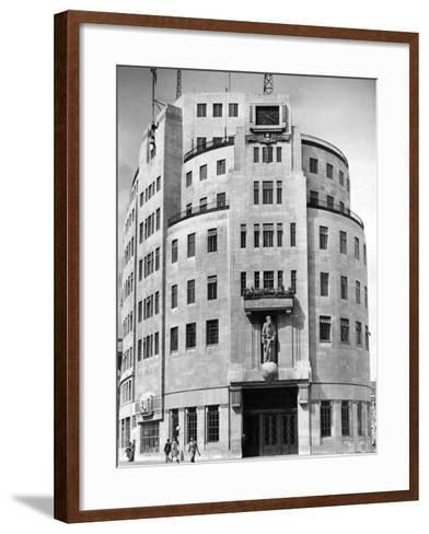 Broadcasting House 1948--Framed Art Print