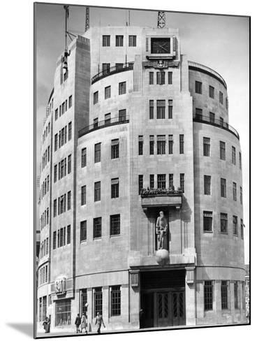 Broadcasting House 1948--Mounted Photographic Print