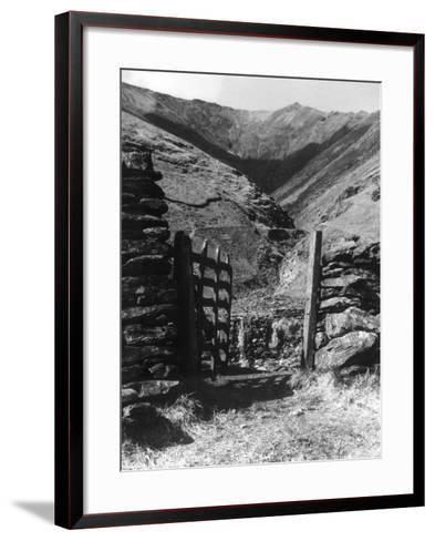 Road to Blencathra--Framed Art Print