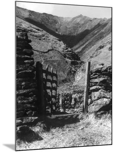 Road to Blencathra--Mounted Photographic Print