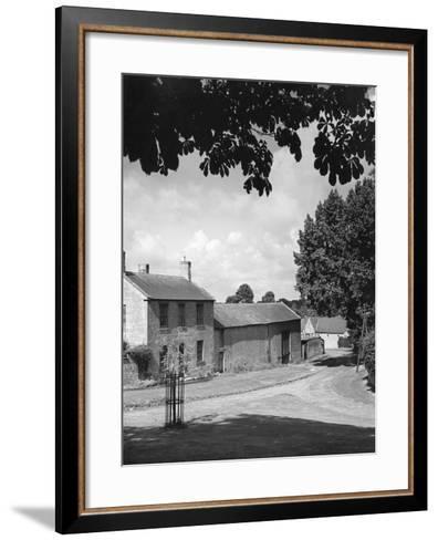Warwickshire Farm--Framed Art Print