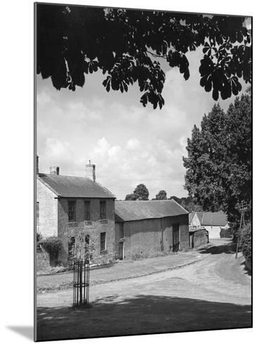 Warwickshire Farm--Mounted Photographic Print
