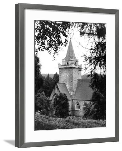 Crathie Church--Framed Art Print