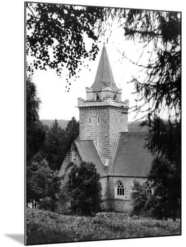 Crathie Church--Mounted Photographic Print
