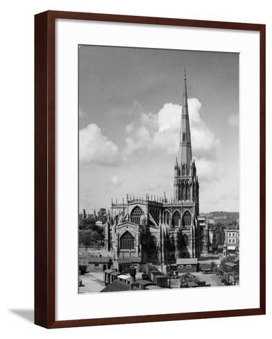 St. Mary Redcliffe--Framed Art Print