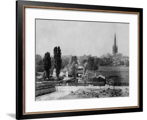 Norwich--Framed Art Print