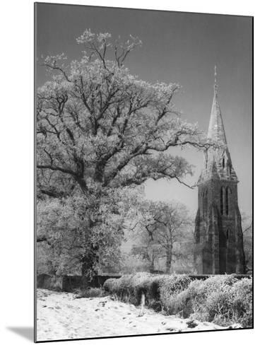 Little Brington Winter--Mounted Photographic Print