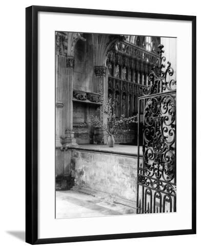 Beverley Minster Gate--Framed Art Print