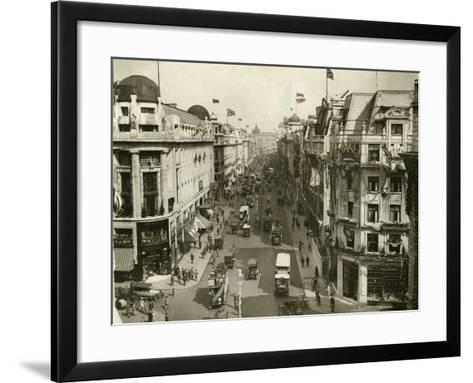 Regent Street 1927--Framed Art Print