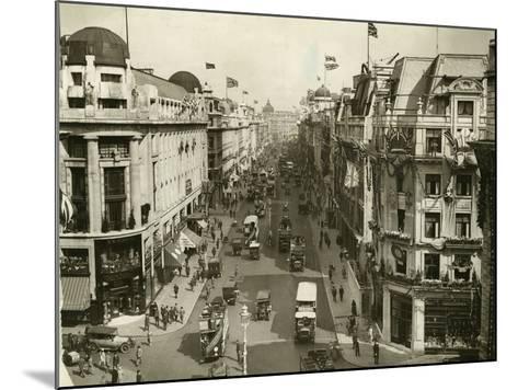 Regent Street 1927--Mounted Photographic Print