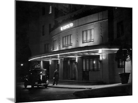Dorchester Hotel 1930S--Mounted Photographic Print